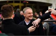 29 December 2019; Former Ireland Rugby head coach Joe Schmidt in attendance during Day Four of the Leopardstown Christmas Festival 2019 at Leopardstown Racecourse in Dublin. Photo by David Fitzgerald/Sportsfile