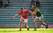 29 December 2019; Ciaran Sheehan of Cork and James McCarthy of Kerry during the 2020 McGrath Cup Group B match between Kerry and Cork at Austin Stack Park in Tralee, Kerry. Photo by Brendan Moran/Sportsfile