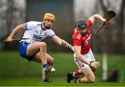 29 December 2019; Conor Lehane of Cork in action against Conor Gleeson of Waterford during the Co-op Superstores Munster Hurling League 2020 Group B match between Waterford and Cork at Fraher Field in Dungarvan, Waterford. Photo by Eóin Noonan/Sportsfile