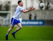 29 December 2019; Karl O'Connell of Monaghan in action during the Bank of Ireland Dr McKenna Cup Round 1 match between Monaghan and Derry at Grattan Park in Inniskeen, Monaghan. Photo by Philip Fitzpatrick/Sportsfile