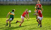 29 December 2019; Ciaran Sheehan of Cork passes to team-mate Shane Forde during the 2020 McGrath Cup Group B match between Kerry and Cork at Austin Stack Park in Tralee, Kerry. Photo by Brendan Moran/Sportsfile