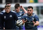 30 December 2019; Jack Aungier during Leinster Rugby squad training at Energia Park in Donnybrook, Dublin. Photo by Ramsey Cardy/Sportsfile