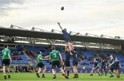 2 January 2020; Harry Bradbury of North Midlands Area in action during the Shane Horgan Cup Round 3 match between North Midlands Area and South East Area at Energia Park in Donnybrook, Dublin. Photo by David Fitzgerald/Sportsfile