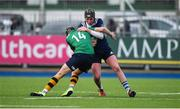 2 January 2020; Harry Bradbury of North Midlands Area is tackled by Jody Doyle Hutton of South East Area during the Shane Horgan Cup Round 3 match between North Midlands Area and South East Area at Energia Park in Donnybrook, Dublin. Photo by David Fitzgerald/Sportsfile