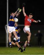 2 January 2020; Brian Hartnett of Cork in action against Donagh Leahy of Tipperary during the 2020 McGrath Cup Group B match between Cork and Tipperary at Mallow GAA Grounds in Mallow in Cork. Photo by Eóin Noonan/Sportsfile