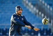 3 January 2020; Jack Aungier during a Leinster Rugby captain's run at the RDS Arena in Dublin. Photo by Seb Daly/Sportsfile