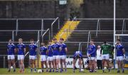 29 December 2019; The Cavan players ahead of during the Bank of Ireland Dr McKenna Cup Round 1 match between Cavan and Armagh at Kingspan Breffni in Cavan. Photo by Ben McShane/Sportsfile