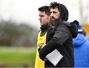 4 January 2020; Wexford manager Paul Galvin during the 2020 O'Byrne Cup Round 2 match between Offaly and Wexford at Faithful Fields in Kilcormac, Offaly. Photo by Matt Browne/Sportsfile