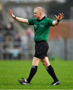 4 January 2020; Referee Barry Cassidy during the AIB GAA Football All-Ireland Senior Club Championship semi-final match between Corofin and Nemo Rangers at Cusack Park in Ennis, Clare. Photo by Brendan Moran/Sportsfile
