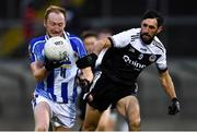 4 January 2020; Darren O'Reilly of Ballyboden St Enda's in action against Aidan Branagan of Kilcoo during the AIB GAA Football All-Ireland Senior Club Championship semi-final match between Kilcoo and Ballyboden St Enda's at Kingspan Breffni in Cavan. Photo by Piaras Ó Mídheach/Sportsfile