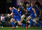 4 January 2020; Peter Dooley of Leinster makes a break during the Guinness PRO14 Round 10 match between Leinster and Connacht at the RDS Arena in Dublin. Photo by Ramsey Cardy/Sportsfile
