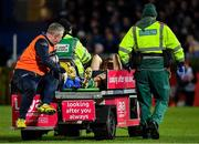4 January 2020; Conor Fitzgerald of Connacht is stretchered from the field following an injury during the Guinness PRO14 Round 10 match between Leinster and Connacht at the RDS Arena in Dublin. Photo by Seb Daly/Sportsfile