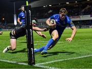 4 January 2020; Garry Ringrose of Leinster evades the tackle of Tom Daly of Connacht on his way to scoring side's eighth try during the Guinness PRO14 Round 10 match between Leinster and Connacht at the RDS Arena in Dublin. Photo by Seb Daly/Sportsfile