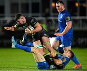4 January 2020; Paul Boyle of Connacht is tackled by Garry Ringrose of Leinster during the Guinness PRO14 Round 10 match between Leinster and Connacht at the RDS Arena in Dublin. Photo by Seb Daly/Sportsfile