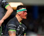 4 January 2020; Dominic Robertson-McCoy of Connacht following an injury during the Guinness PRO14 Round 10 match between Leinster and Connacht at the RDS Arena in Dublin. Photo by Seb Daly/Sportsfile