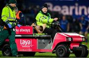 4 January 2020; Conor Fitzgerald of Connacht leaves the field on a stretcher after picking up an injury during the Guinness PRO14 Round 10 match between Leinster and Connacht at the RDS Arena in Dublin. Photo by Sam Barnes/Sportsfile