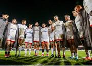 3 January 2020; Iain Henderson of Ulster talks to his team-mates after the Guinness PRO14 Round 10 match between Ulster and Munster at Kingspan Stadium in Belfast. Photo by John Dickson/Sportsfile