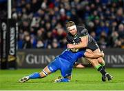 4 January 2020; Tom McCartney of Connacht is tackled by Max Deegan of Leinster during the Guinness PRO14 Round 10 match between Leinster and Connacht at the RDS Arena in Dublin. Photo by Seb Daly/Sportsfile