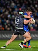 4 January 2020; Tadhg Furlong of Leinster is tackled by Tom Daly of Connacht during the Guinness PRO14 Round 10 match between Leinster and Connacht at the RDS Arena in Dublin. Photo by Seb Daly/Sportsfile