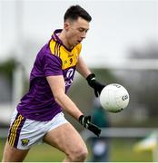 4 January 2020; Eoghan Nolan of Wexford during the 2020 O'Byrne Cup Round 2 match between Offaly and Wexford at Faithful Fields in Kilcormac, Offaly. Photo by Matt Browne/Sportsfile