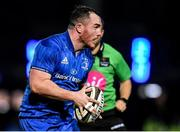 4 January 2020; Peter Dooley of Leinster during the Guinness PRO14 Round 10 match between Leinster and Connacht at the RDS Arena in Dublin. Photo by Seb Daly/Sportsfile