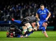 4 January 2020; James Ryan of Leinster is tackled by Niall Murray and Dominic Robertson-McCoy of Connacht during the Guinness PRO14 Round 10 match between Leinster and Connacht at the RDS Arena in Dublin. Photo by Seb Daly/Sportsfile