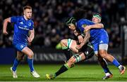 4 January 2020; Joe Tomane of Leinster is tackled by Robin Copeland of Connacht during the Guinness PRO14 Round 10 match between Leinster and Connacht at the RDS Arena in Dublin. Photo by Ramsey Cardy/Sportsfile