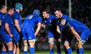 4 January 2020; Ross Molony speaks to his Leinster team-mates during the Guinness PRO14 Round 10 match between Leinster and Connacht at the RDS Arena in Dublin. Photo by Ramsey Cardy/Sportsfile