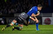 4 January 2020; Garry Ringrose of Leinster is tackled by Robin Copeland of Connacht during the Guinness PRO14 Round 10 match between Leinster and Connacht at the RDS Arena in Dublin. Photo by Ramsey Cardy/Sportsfile