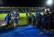4 January 2020; Garry Ringrose of Leinster following the Guinness PRO14 Round 10 match between Leinster and Connacht at the RDS Arena in Dublin. Photo by Ramsey Cardy/Sportsfile