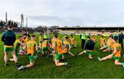 4 January 2020; The Corofin team warm down after the AIB GAA Football All-Ireland Senior Club Championship semi-final match between Corofin and Nemo Rangers at Cusack Park in Ennis, Clare. Photo by Brendan Moran/Sportsfile