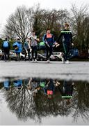 5 January 2020; Limerick players arrive prior to the Co-op Superstores Munster Hurling League 2020 Group A match between Clare and Limerick at O'Garney Park in Sixmilebridge, Clare. Photo by Harry Murphy/Sportsfile