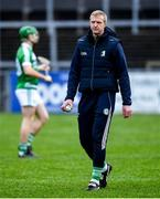 5 January 2020; Ballyhale Shamrocks manager Henry Shefflin prior to the AIB GAA Hurling All-Ireland Senior Club Championship semi-final between Ballyhale Shamrocks and Slaughtnell at Pairc Esler in Newry, Co. Down. Photo by David Fitzgerald/Sportsfile