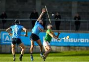 5 January 2020; Jake Malone of Dublin in action against Jack Murphy of Carlow during the 2020 Walsh Cup Round 3 match between Dublin and Carlow at Parnell Park in Dublin. Photo by Sam Barnes/Sportsfile