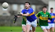 5 January 2020; Greg Henry of Tipperary in action against Cormac Coffey and Sean T Dillon of Kerry during the 2020 McGrath Cup Group B match between Tipperary and Kerry at Clonmel Sportsfield in Clonmel, Tipperary. Photo by Brendan Moran/Sportsfile
