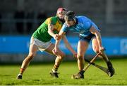 5 January 2020; Donal Burke of Dublin in action against Alan Corcoran of Carlow during the 2020 Walsh Cup Round 3 match between Dublin and Carlow at Parnell Park in Dublin. Photo by Sam Barnes/Sportsfile