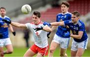 5 January 2020; David Mulgrew of Tyrone in action against Stephen Murray of Cavan during the Bank of Ireland Dr McKenna Cup Round 2 match between Tyrone and Cavan at Healy Park in Omagh, Tyrone. Photo by Oliver McVeigh/Sportsfile