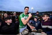 5 January 2020; Colin Fennelly of Ballyhale Shamrocks celebrates following the AIB GAA Hurling All-Ireland Senior Club Championship semi-final between Ballyhale Shamrocks and Slaughtnell at Pairc Esler in Newry, Co. Down. Photo by David Fitzgerald/Sportsfile