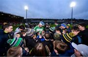 5 January 2020; TJ Reid of Ballyhale Shamrocks signs autographs following the AIB GAA Hurling All-Ireland Senior Club Championship semi-final between Ballyhale Shamrocks and Slaughtnell at Pairc Esler in Newry, Co. Down. Photo by David Fitzgerald/Sportsfile