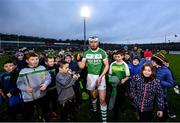 5 January 2020; TJ Reid of Ballyhale Shamrocks celebrates following the AIB GAA Hurling All-Ireland Senior Club Championship semi-final between Ballyhale Shamrocks and Slaughtnell at Pairc Esler in Newry, Co. Down. Photo by David Fitzgerald/Sportsfile