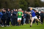 5 January 2020; Ciaran Comerford of Laois during the 2020 Walsh Cup Round 3 match between Laois and Westmeath at O'Keeffe Park in Borris in Ossory, Laois. Photo by Ramsey Cardy/Sportsfile