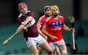 5 January 2020; Jerry Kelly of Borris-Ileigh in action against Cian Mahoney of St Thomas' during the AIB GAA Hurling All-Ireland Senior Club Championship semi-final between St Thomas' and Borris-Ileigh at LIT Gaelic Grounds in Limerick. Photo by Piaras Ó Mídheach/Sportsfile