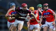5 January 2020; Niall Kenny of Borris-Ileigh gets past St Thomas' players, from left, Conor Cooney, Cian Mahoney, and Cathal Burke during the AIB GAA Hurling All-Ireland Senior Club Championship semi-final between St Thomas' and Borris-Ileigh at LIT Gaelic Grounds in Limerick. Photo by Piaras Ó Mídheach/Sportsfile