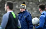 5 January 2020; Tipperary coach/selector Paddy Christie prior to the 2020 McGrath Cup Group B match between Tipperary and Kerry at Clonmel Sportsfield in Clonmel, Tipperary. Photo by Brendan Moran/Sportsfile