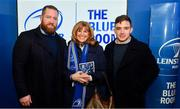 4 January 2020; Leinster players Michael Bent and Rowan Osborne with supporters in the Blue Room at the Guinness PRO14 Round 10 match between Leinster and Connacht at the RDS Arena in Dublin. Photo by Sam Barnes/Sportsfile