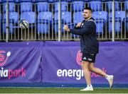 6 January 2020; Cian Kelleher during a Leinster Rugby Squad Training at Leinster Rugby Headquarters in Energia Park in Donnybrook, Dublin. Photo by Harry Murphy/Sportsfile