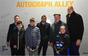 4 January 2020; Leinster players Rory O'Loughlin, Ross Byrne, and Devin Toner with supporters in Autograph Alley at the Guinness PRO14 Round 10 match between Leinster and Connacht at the RDS Arena in Dublin. Photo by Sam Barnes/Sportsfile