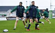 4 January 2020; Jack Carty, centre, during Connacht Rugby squad training at The Sportsground in Galway. Photo by Sam Barnes/Sportsfile
