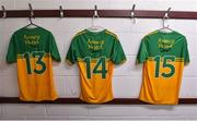 8 January 2020; A general view of the Donegal dressing room before the Bank of Ireland Dr McKenna Cup Round 3 match between Derry and Donegal at Celtic Park in Derry. Photo by Oliver McVeigh/Sportsfile