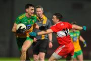 8 January 2020; Michael Langan of Donegal in action against Niall Toner of Derry during the Bank of Ireland Dr McKenna Cup Round 3 match between Derry and Donegal at Celtic Park in Derry. Photo by Oliver McVeigh/Sportsfile